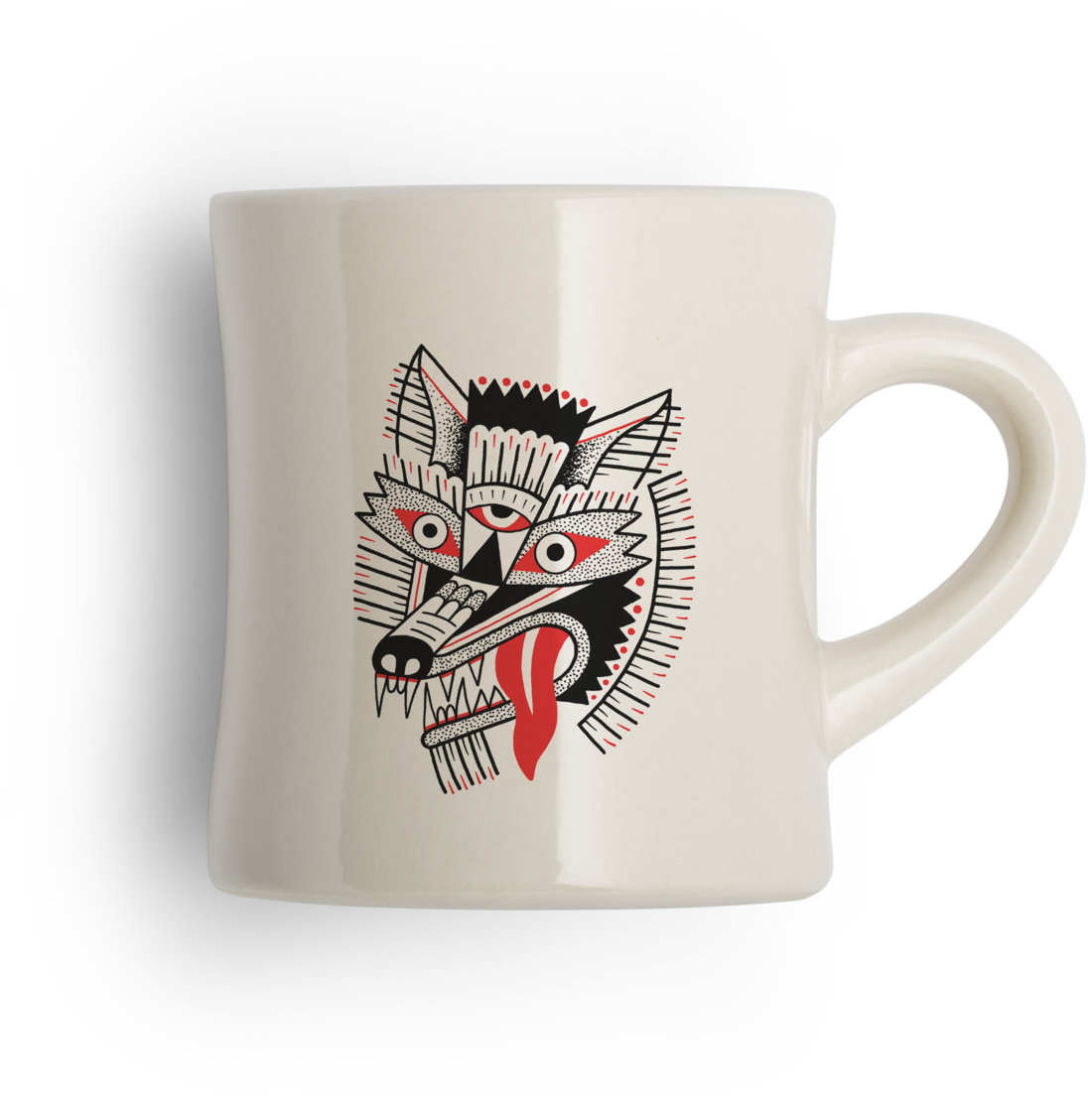 Wolf Mug Stumptown Coffee Roasters