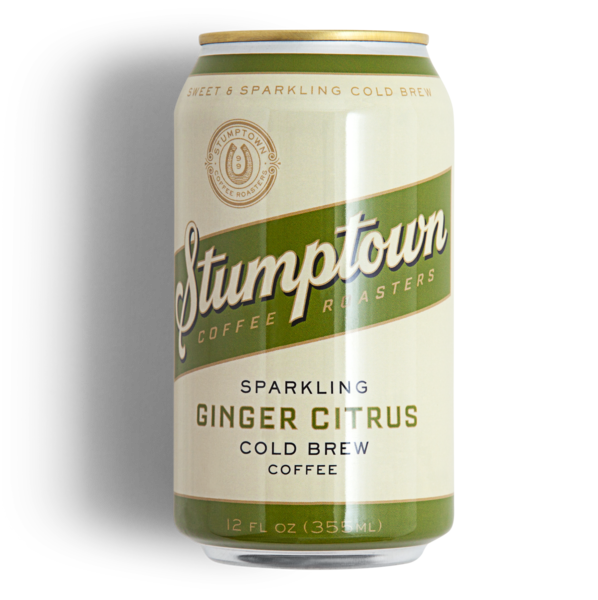 Ginger Citrus Sparkling Cold Brew Stumptown Coffee Roasters